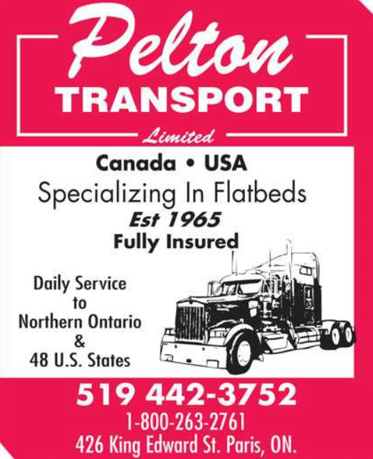 Pelton Transport